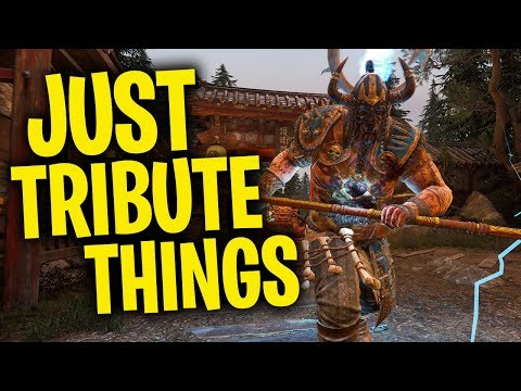 Just Tribute Things - For Honor Season 5