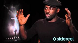 Prometheus Official Trailer + Idris Elba Interview Thumbnail