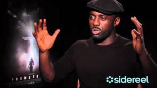 Prometheus Official Trailer + Idris Elba Interview Thumbnail