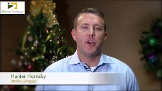 Mission Mortgage Senior Loan Officer Hunter Hornsby Holiday Greeting 2017