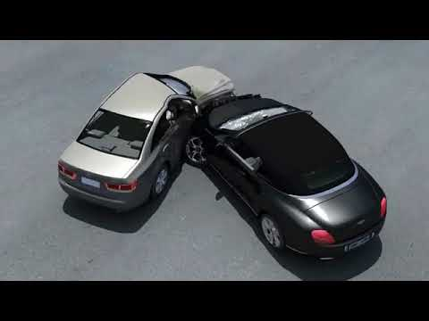 AUTO & TRUCK ACCIDENT ANIMATION FOR MEDIATION AND TRIAL - YouTube
