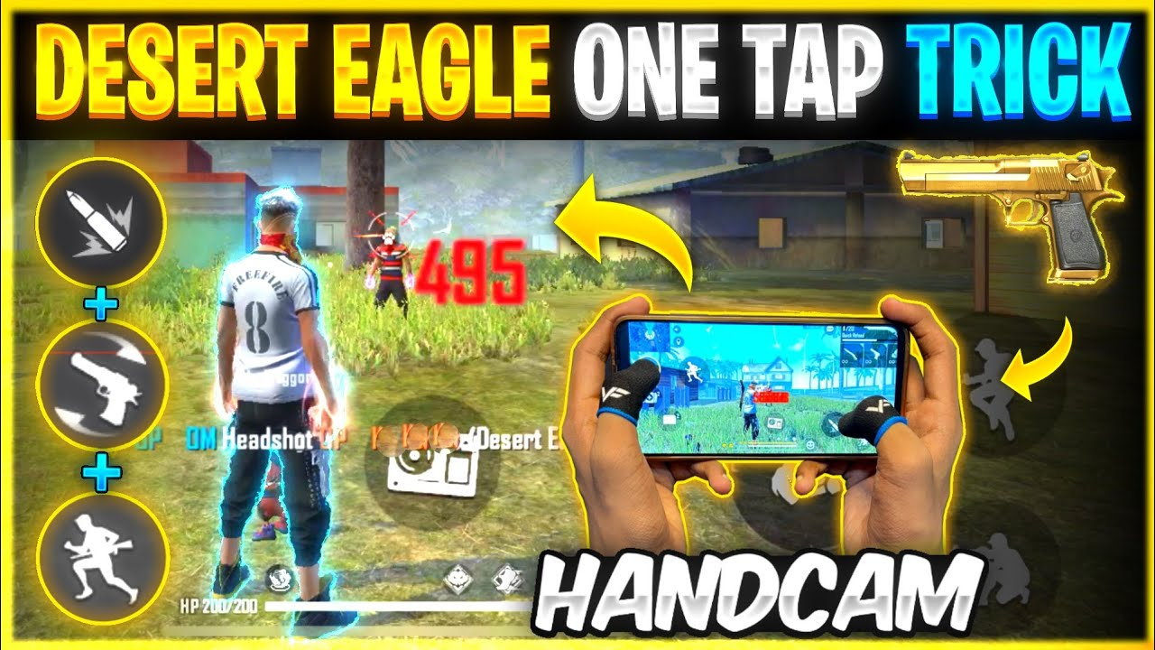 Desert Eagle One Tap Headshot Trick 🔥| Advanced Trick | Secret One Tap Headshot Setting 👽| Free Fire