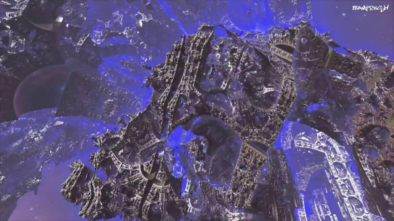 3D Fractal Zoom (Height Rip) Mandelbox (720p 30fps)