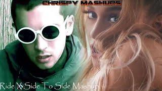 twenty one pilots & Ariana Grande Ft. Nicki Minaj - Ride / Side To Side Mashup (Video Edit)