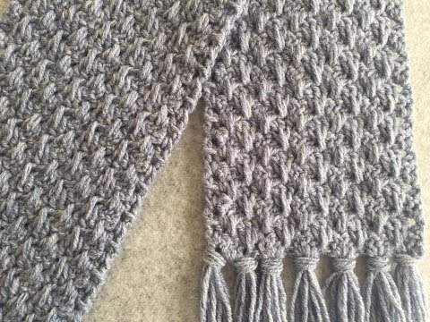 CROCHET Valley of Lilys SCARF TUTORIAL ~ Easy Project for Beginners