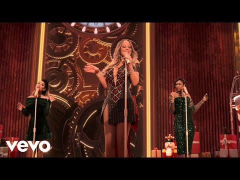 Mariah Carey – Oh Santa! (Official Music Video) ft. Ariana Grande, Jennifer Hudson