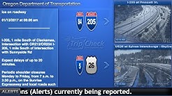 Live traffic cameras courtesy of ODOT