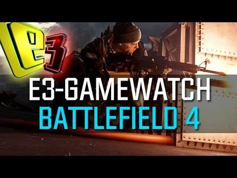 E3 2013 Gamewatch: Battlefield 4 - Multiplayer-Gameplay in der Analyse