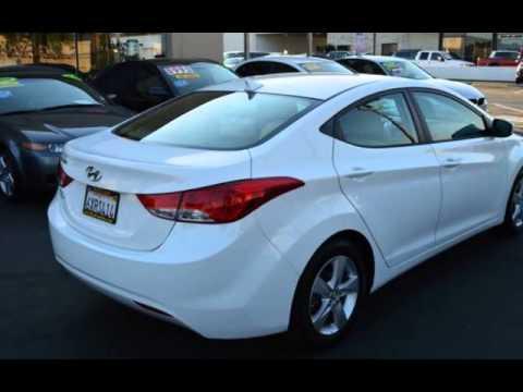 2013 Hyundai Elantra GLS 1 Owner Gas Saver for sale in SACRAMENTO, CA