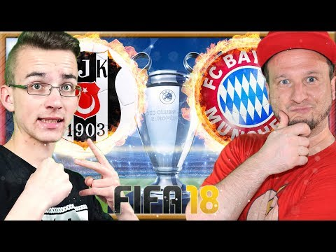 BESIKTAS ISTANBUL vs FC BAYERN | YouTuber Duell BenMasterful vs PacksUnited