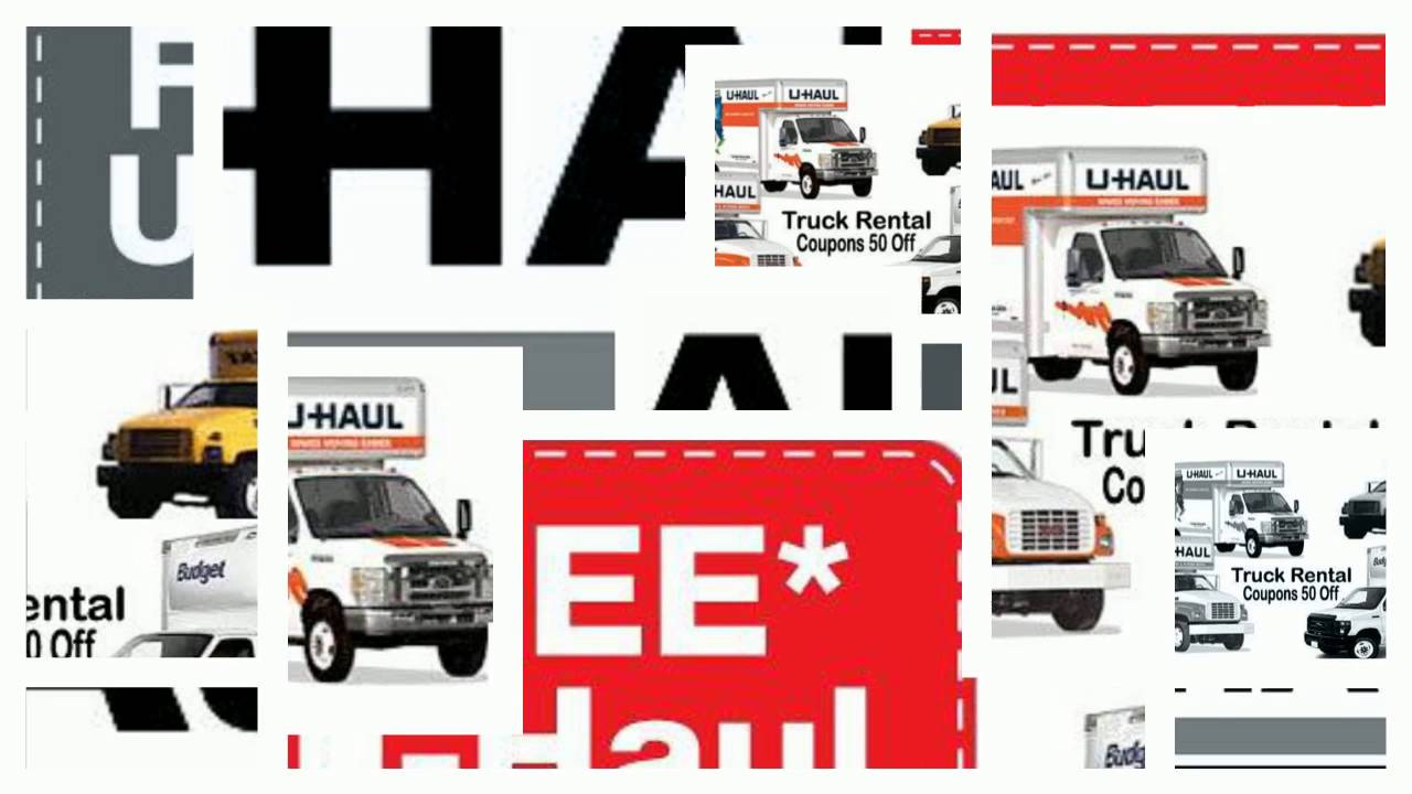 Printable uhaul coupons 2018