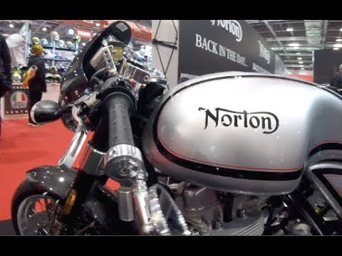 Norton Commando 961 Cafe Racer II & Sport II 50th Anniversary Ed