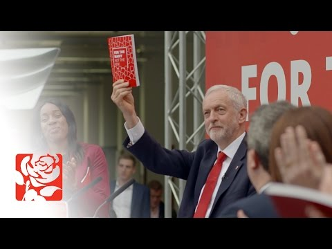 Jeremy Corbyn launches Labour