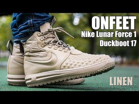 "nike-lunar-force-1-duckboot-17-""linen""-onfeet-review-|-sneakers.by"