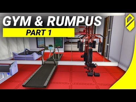 Building A Mansion - Gym & Rumpus Room (Part 1)
