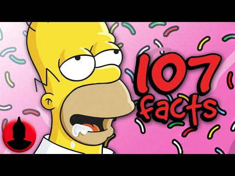 107 Homer Simpson Facts You Should Know! - The Simpsons Facts! (107 Facts S6E12) | ChannelFrederator