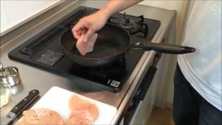 照り焼きチキンバーガー レシピ teriyaki Juicy Chicken Burger
