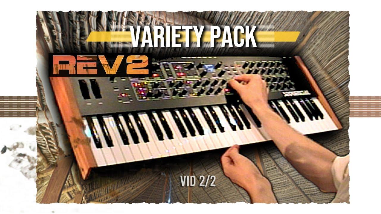 Download Prophet REV 2 - patches / soundset by Jexus (no talking demo)