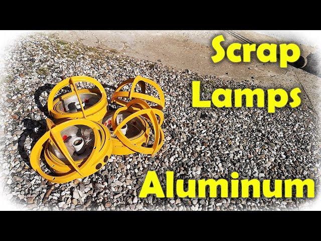 Old Lamps - Scrap Aluminum - Future Projects