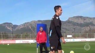 Un rondo del Mallorca con Stephen Nash