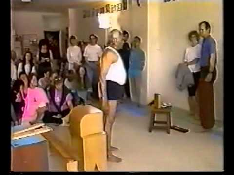 Medical class, BKS Iyengar in Australia '92.