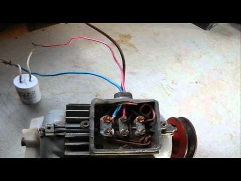 Как изменить вращение синхронного двигателя