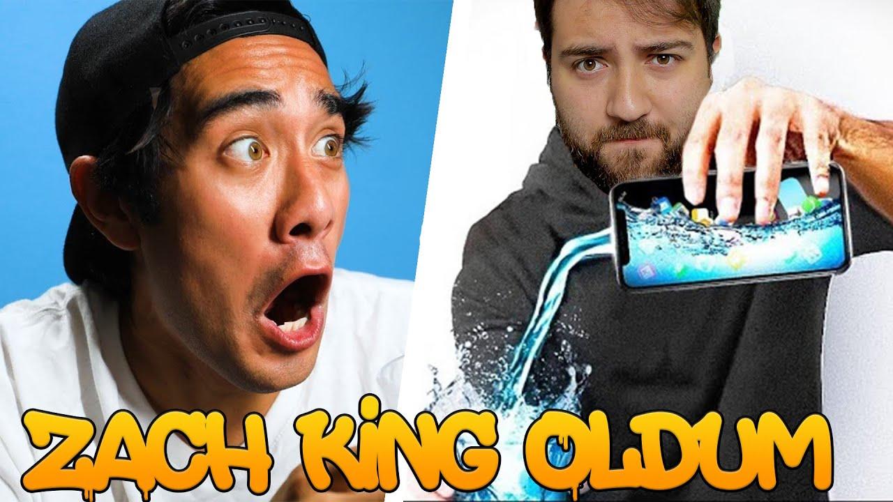 Zach King OLARAK BİR GÜN GEÇİRMEK! | DÜNYANIN EN İYİ SİHİRBAZI OLDUM