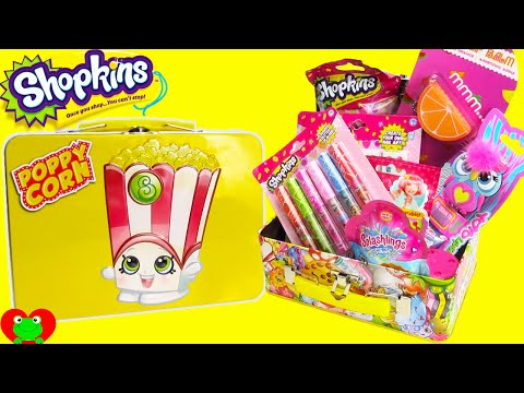 Shopkins Lip Gloss, Nail Polish, and Poppy Corn Tin with My Little Pony and More
