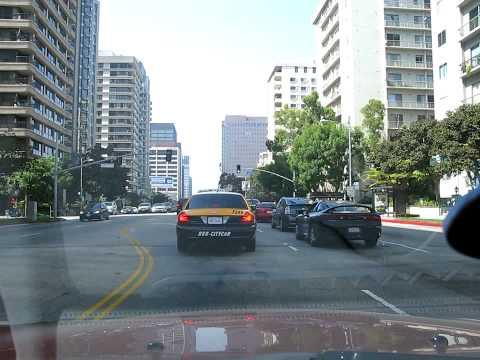 Driving Wilshire Blvd Hollywood California #1