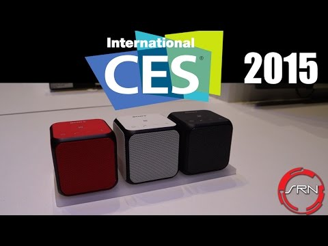 Sony SRS-X11 Portable Cube Speakers