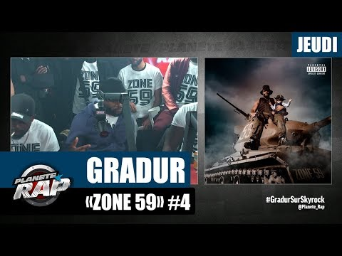 Youtube: Planète Rap – Gradur«Zone 59» #Jeudi