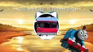 Ginger singing unwritten - Avicii and Kygo remix ft. Thomas ginger