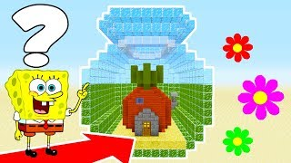 Minecraft: How To Make Spongebobs Hidden Underwater Base!
