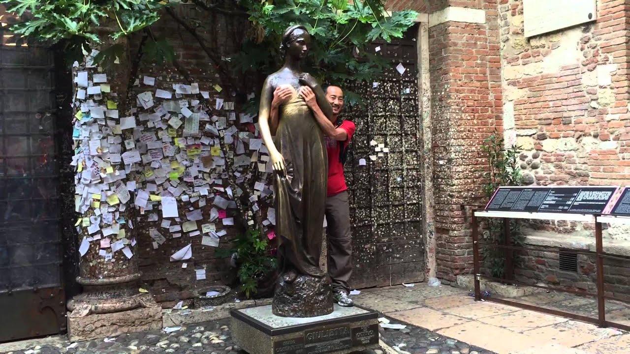 La Casa Di Giulietta In Verona Italy Youtube