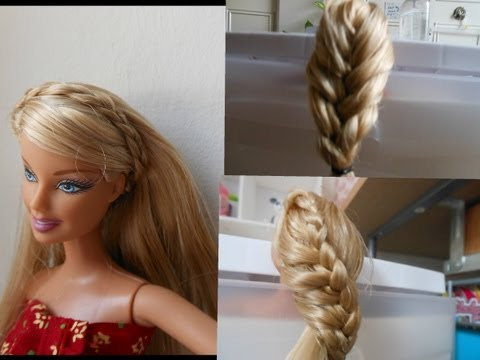 how to make doll hairstyle 2 (braid) stuff
