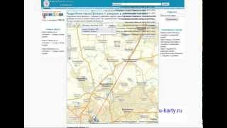 Скачать Карта Города Донецка Map Of The City Of Donetsk