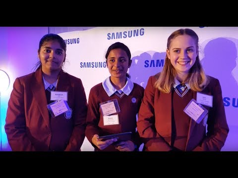 Video Interview with St Clare's College students in Canberra, participating in STEM research