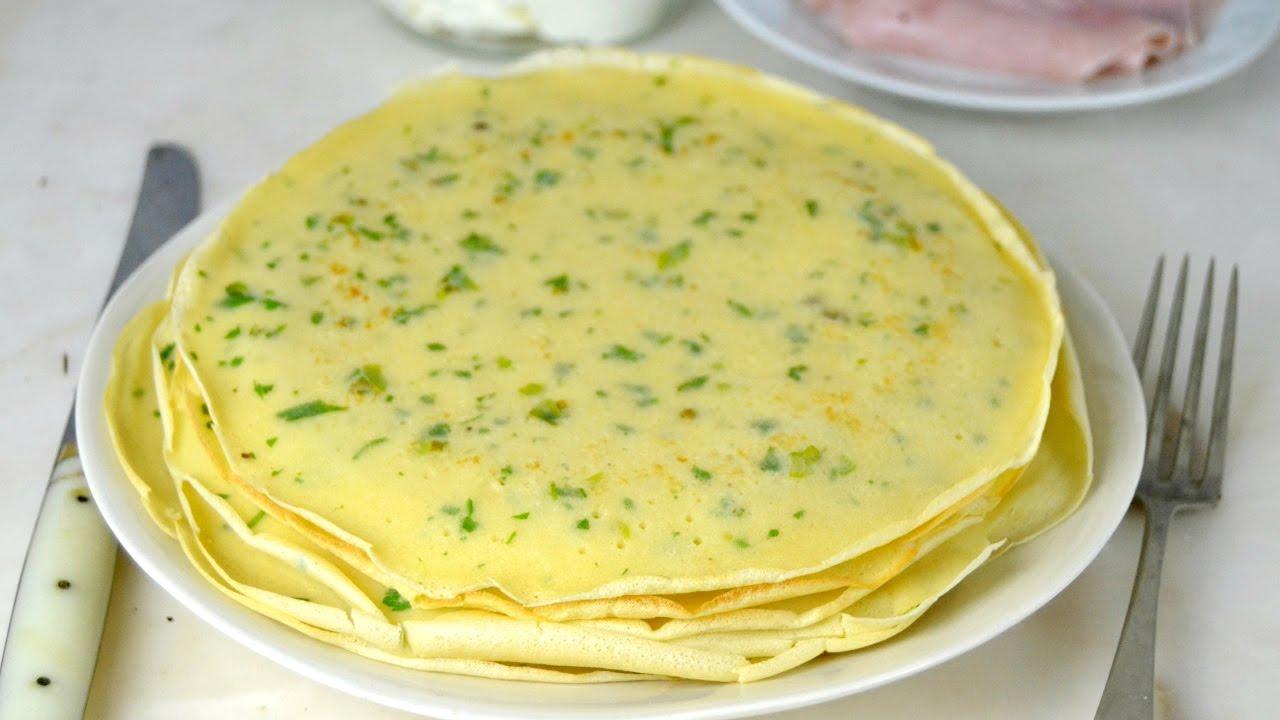 C mo hacer crepes salados para rellenar receta b sica - Videos de como hacer crepes ...