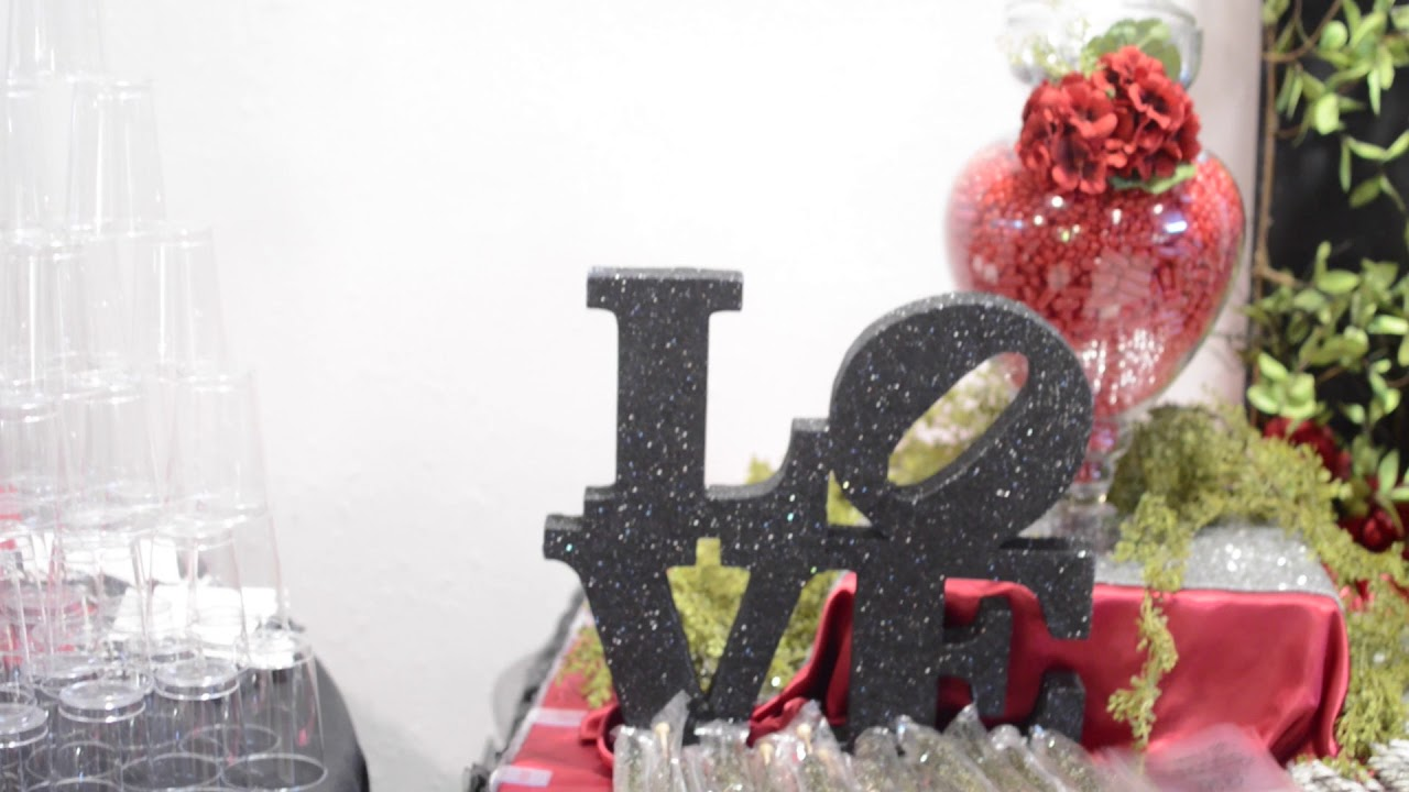 Wedding/Anniversary Party Theme ~ The Way Love Grows ~ Elaborate ...