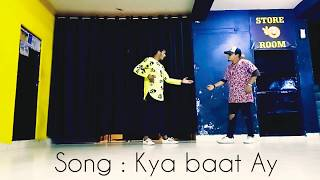 #KyaBaatAy #HarrdySandhu                        Dishant & Prakash Lyrical Hip Hop Dance choreography