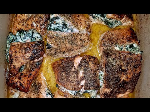Quick Stuffed Salmon
