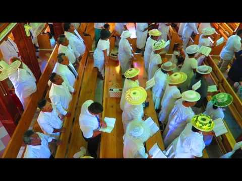 SUNDAY CHURCH SERVICE - Rarotonga, Cook Islands