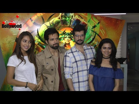 Rithvik Dhanjani, Asha Negi, Rochelle Rao & Others at Screening of Hollywood Film 'Thor Ragnarok'