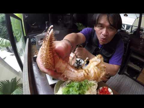 นี่ไงครับ..ปูขน..ปูขนฮอกไกโด..เนื้อมัน กระดองมัน เหลือเชื่อ..สมราคา..Taipei Fish Market
