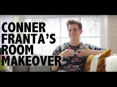 Living Room Makeover with Connor Franta
