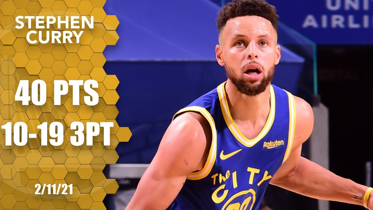 Steph Curry goes off for 40 points vs. Magic [HIGHLIGHTS] | NBA on ESPN