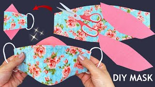 New Style 3D Cute Mask Diy Breathable 3D Face Mask Easy Pattern Sewing Tutorial Mask Making Ideas