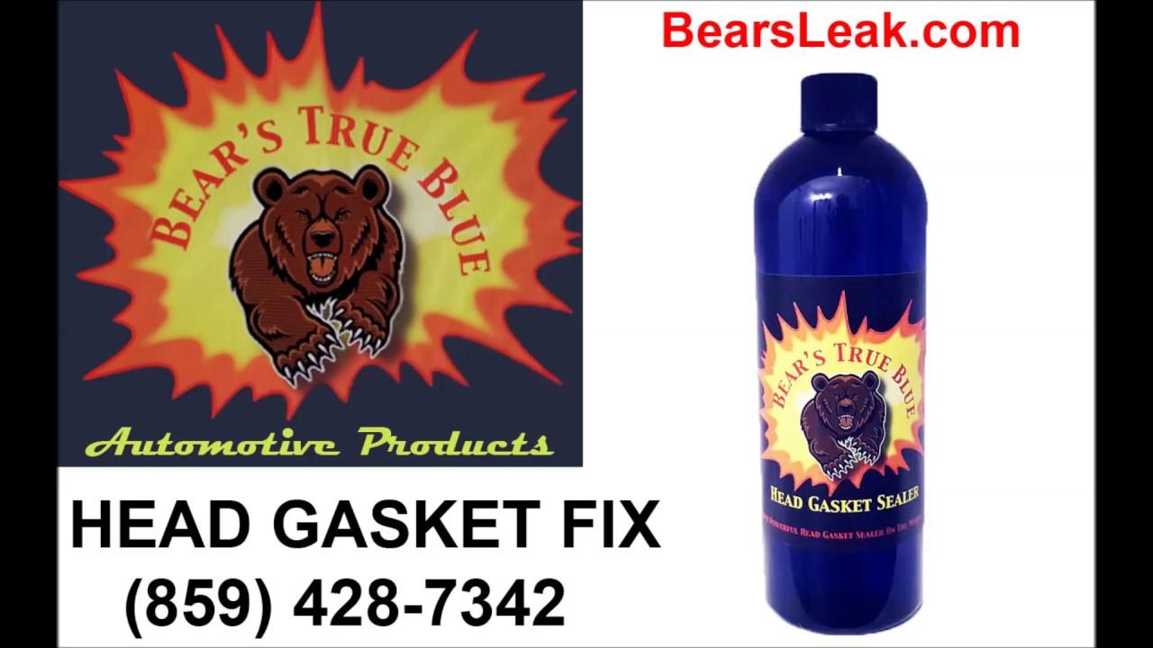 the best head gasket sealer for blown head gaskets - YouTube