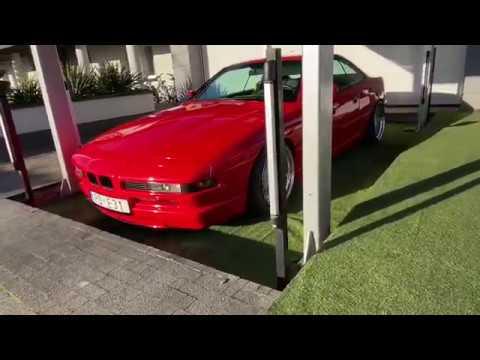 POLAND UNDERGROUND STANCED BMW E24 GARAGE