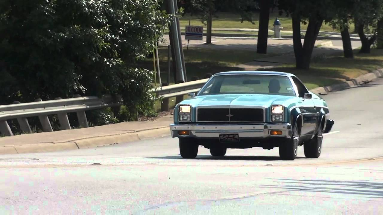 All Chevy 1976 chevy el camino : 1976 Chevy El Camino Custom - YouTube